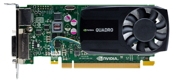 Видеокарта профессиональная PNY Quadro K620 PCI-E 2.0 2048Mb 128 bit DVI VCQK620-PB