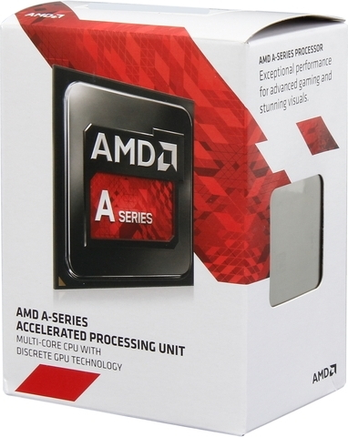 Процессор AMD A8-7600 Kaveri (FM2+, L2 4096Kb, Box) AD7600YBJABOX