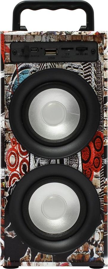 Портативная акустика KS-IS KS-314, black/red