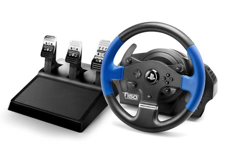 Игровое устройство Thrustmaster T150 Pro Force Feedback, Руль и 3 педали, ПК-PS3-PS4 (4160696)