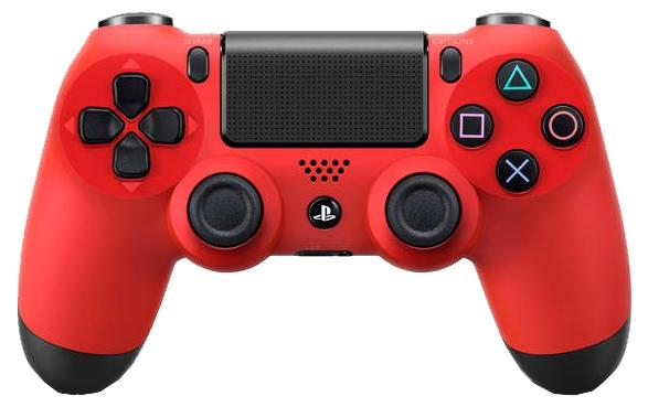 Геймпад SONY DUALSHOCK 4 v2 красный PS719894353