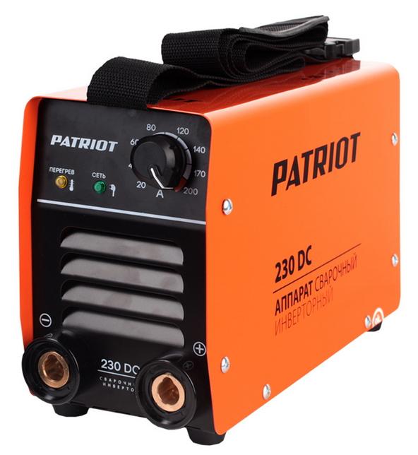 Сварочный аппарат Patriot 230 DC MMA [605.30.2520] 605302520