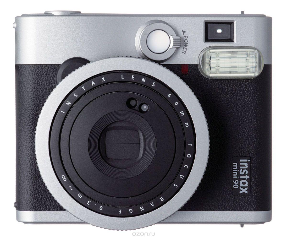 Фотоаппарат моментальной печати моментальной печати Fujifilm Instax Mini 90, чёрный Instax Mini 90 Black