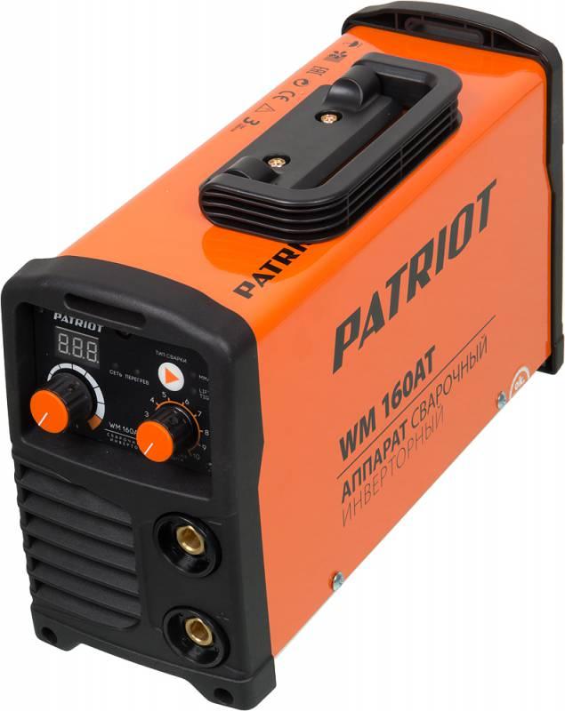 Сварочный аппарат инвертор Patriot WM 160AT 605302616