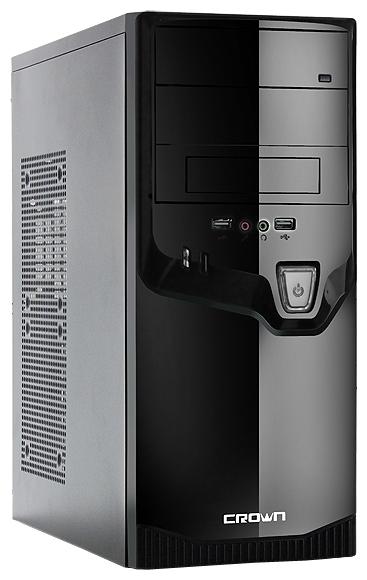 Корпус CROWN CMC-SM602 500W Black/silver