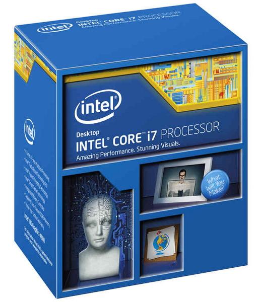 Процессор Intel Core i7-4790 Haswell (3600MHz, LGA1150, L3 8192Kb, Retail)