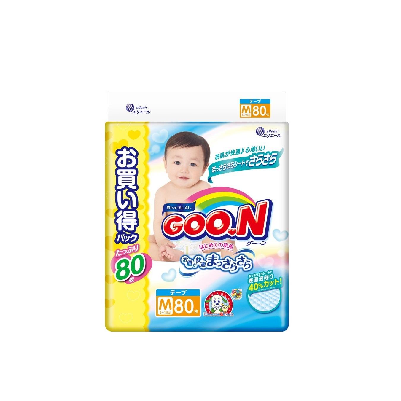 Подгузник Goon Ultra Jumbo Pack 6-11 кг M