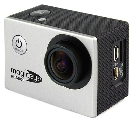 Gmini MagicEye HDS4000, экшн-камера с набором принадлежностей, серебристая