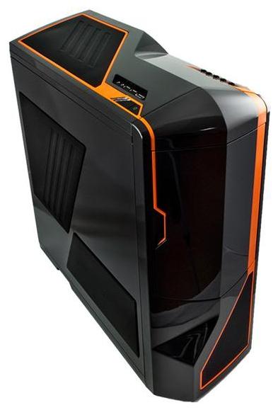 Корпус NZXT Phantom, Black/orange (USB 3.0) CA-PHATM-O2