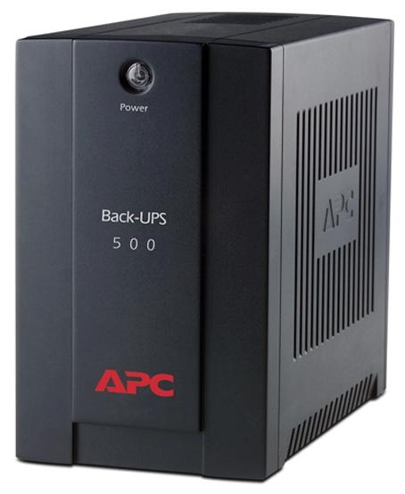 Источник бесперебойного питания APC-by-Schneider-Electric APC by Schneider Electric Back-UPS 500VA AVR IEC (BX500CI)