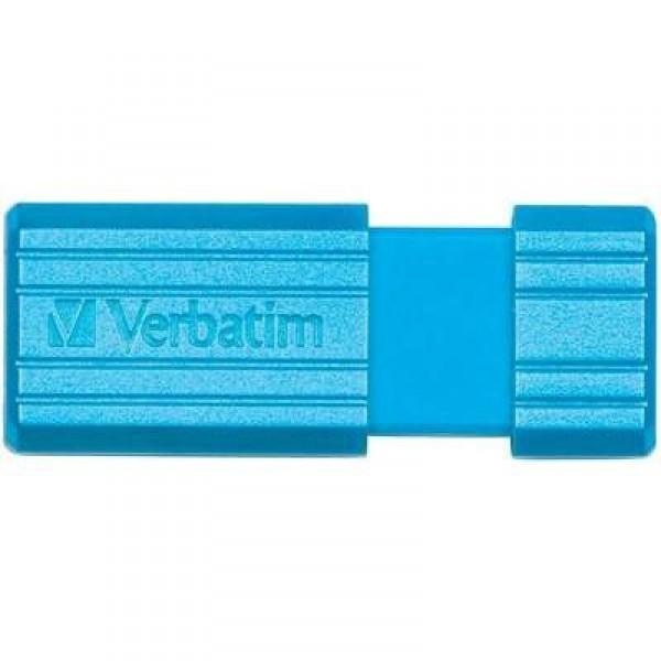 Usb-флешка Verbatim Store 'n' Go PinStripe 16GB, синяя 49068