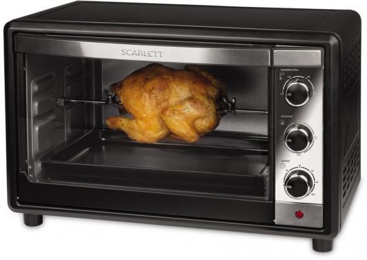Мини-печь, ростер Scarlett SC-EO93O17, черная