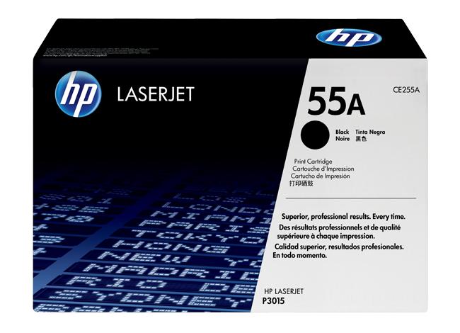 �������� HP LaserJet 55A ������ ��� Enterprise 500 M525(dn/f/c), Enterprise P3015(-/d/dn/x), Pro M521(dn/dw) CE255A