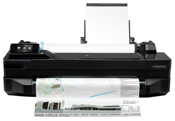 Плоттер HP Designjet T120 24in e-Printer, без подставки cq891a