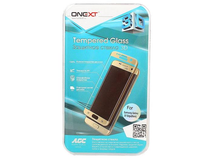 ONEXT для Samsung Galaxy S7 Edge 3D (с черной рамкой)
