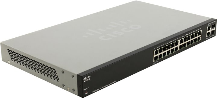 Коммутатор (switch) Cisco SLM2024T-EU (управляемый)