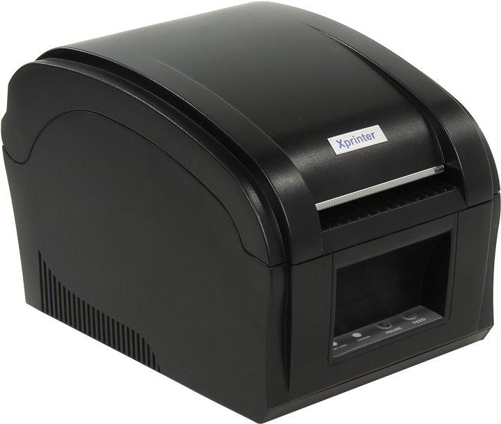 Принтер наклеек Espada XP-360B, черный