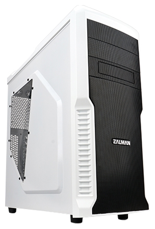 Корпус Zalman Z3 Plus White (без блока питания)