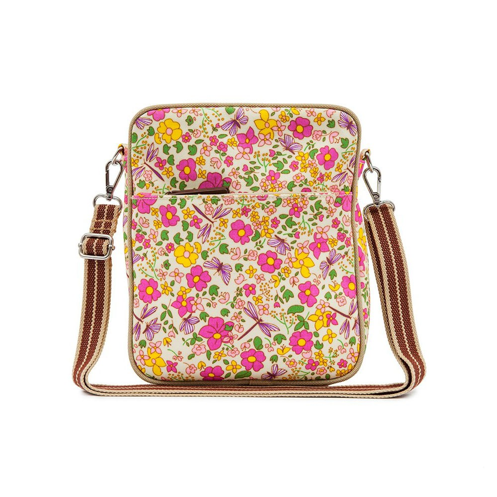 Сумка для мамы Pink-Lining Out And About Mini Messenger, Cottage Garden 15SS235