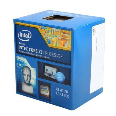 Процессор Intel Core i3-4170 Haswell (3700MHz, LGA1150, L3 3072Kb, Retail)