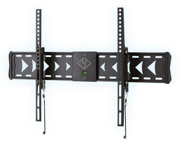 """Кронштейн Kromax FLAT-2, тёмно-серый, 37""""-63"""", настенный с наклоном, до 25 кг"""