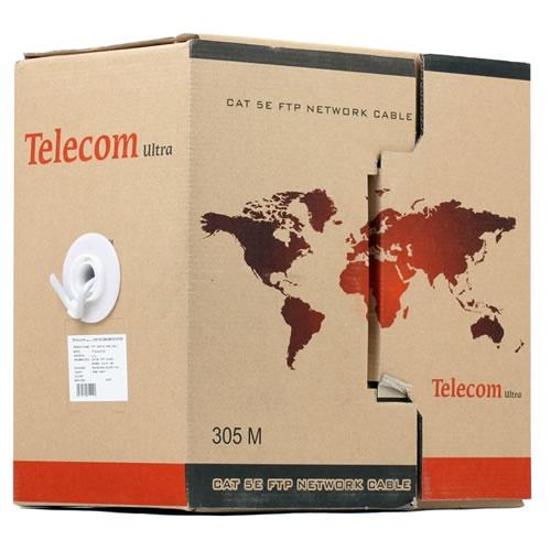 "Кабель (шнур) Кабель UTP 4 пары 5E кат. 305м,""Telecom Ultra"" Base TUS44048E"