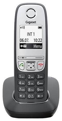 Радиотелефон Gigaset A415, Чёрный S30852-H2505-S301