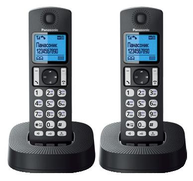 Радиотелефон DECT Panasonic KX-TGС322RU1 Черный