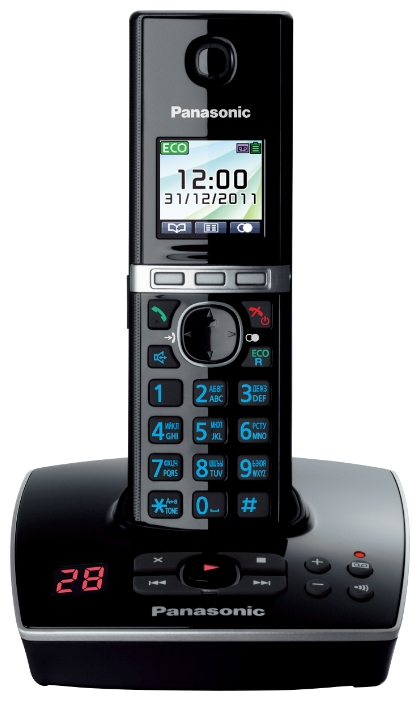 Радиотелефон Panasonic KX-TG8061RUB Черный