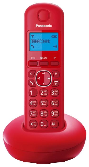Радиотелефон Panasonic KX-TGB210RUR Красный