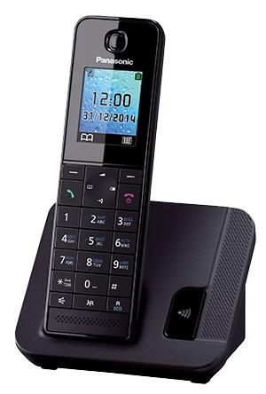 Радиотелефон DECT Panasonic KX-TGH210RUB Черный
