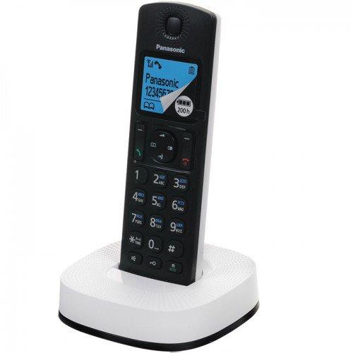 Радиотелефон DECT Panasonic KX-TGС310RU2 Чёрный/Белый