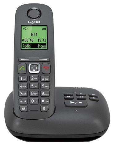 Радиотелефон DECT Gigaset A540A Черный