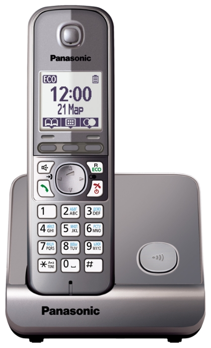 ������������ DECT Panasonic KX-TG6711RUM ����� ��������
