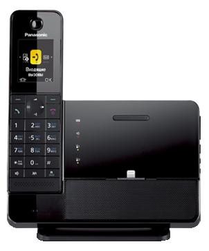 Радиотелефон DECT Panasonic KX-PRL260RUB Черный