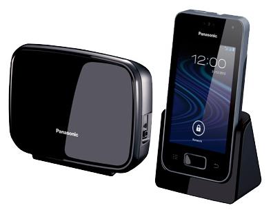 Радиотелефон DECT Panasonic KX-PRX150RUB Черный