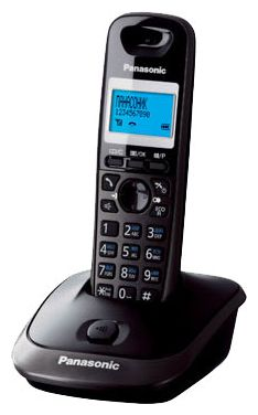 Радиотелефон Panasonic KX-TG2511RUT, тёмно-серый металлик