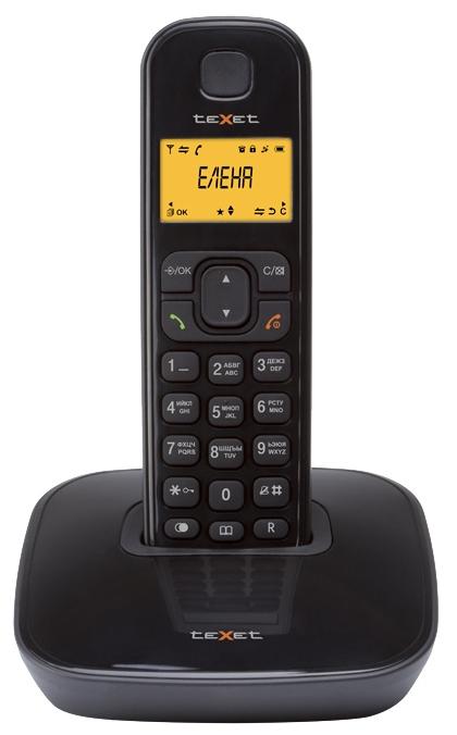 Радиотелефон DECT TeXet TX-D6705A Черный