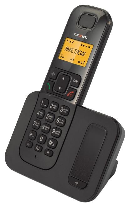 Радиотелефон DECT TeXet TX-D6605A Черный