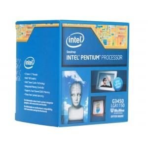 Процессор Intel Pentium G3450 Haswell (3400MHz, LGA1150, L3 3072Kb, Retail)