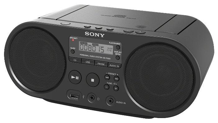 Магнитола SONY ZS-PS50/BС, чёрная