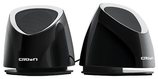 Компьютерная акустика Crown CMS-279, чёрно-серебристые CMS-279 bl/s