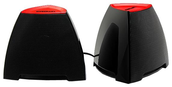Компьютерная акустика Crown CMS-278, чёрно-красные CMS-278 bl/r