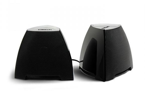 Компьютерная акустика Crown CMS-278, чёрно-серебристые CMS-278 bl/s