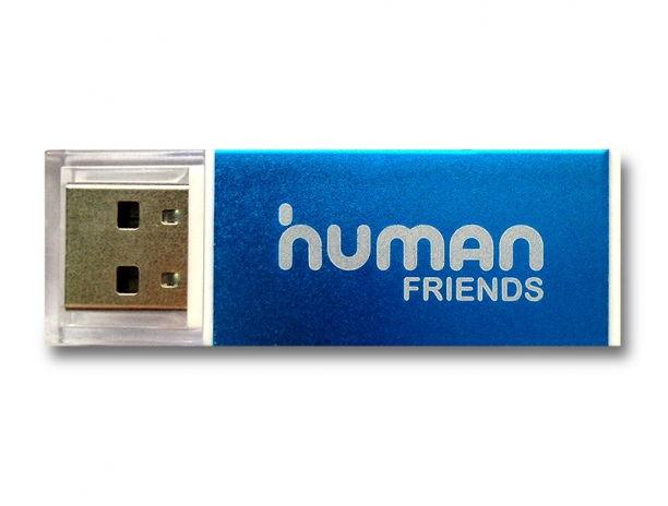 Устройство для чтения карт памяти CBR Human Friends Glam (USB 2.0, SD/microSD/MMC/MS и др.), голубой Glam Blue