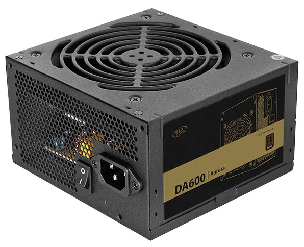 Блок питания Deepcool Aurora DA600-M 600W PWM DA600-М
