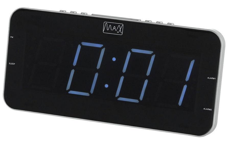 Радиоприемник MAX CR 2904W (радиочасы)