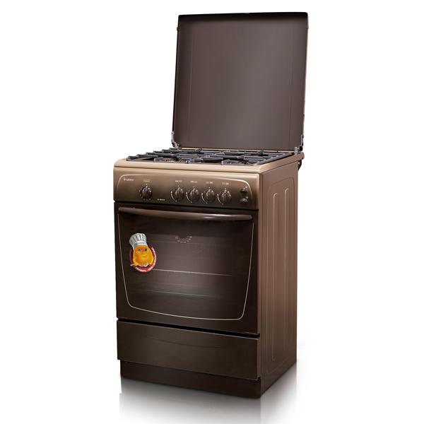 Плита GEFEST Гефест CG 50M02 K19 коричневая