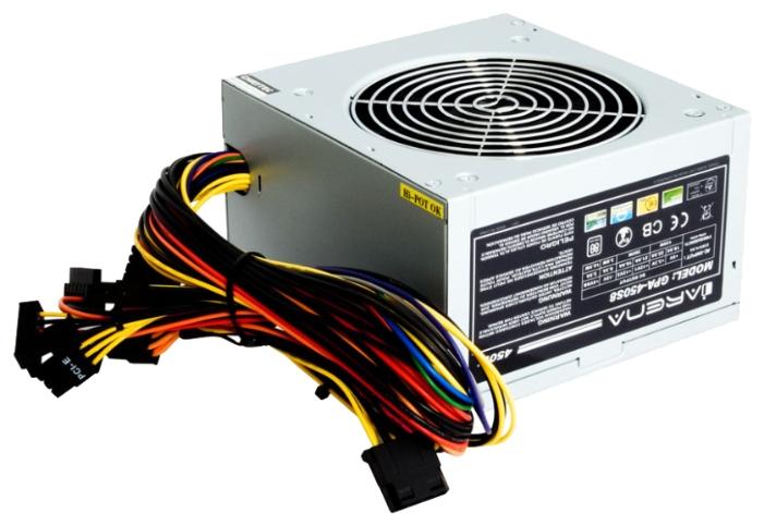 Блок питания Chieftec 450W GPA-450S8 v.2.3, 80 PLUS, Active PFC