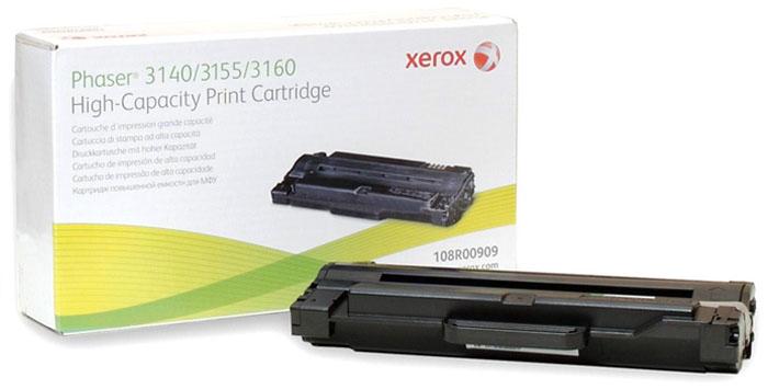 Картридж Xerox 108R00908, черный